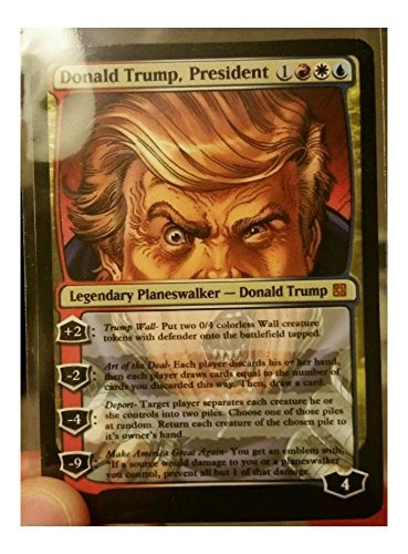 Clever Card Magic (Donald Trump Planeswalker! MTG Card)