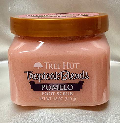 TREE HUT, Tropical Blends. POMELO Foot Scrub. 18 OZ TREEHUTSHEA