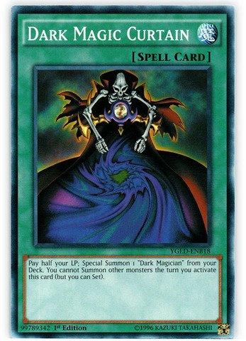 Yu-Gi-Oh! - Dark Magic Curtain (YGLD-ENB18) - Yugi's Legendary Decks - 1st Edition - Common