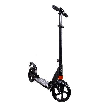 Scooter plegable portátil con rueda grande para niños ...