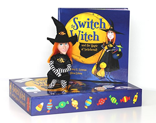 The Switch Witch and the Magic of Switchcraft - A Halloween Storybook with Plush Witch Doll -