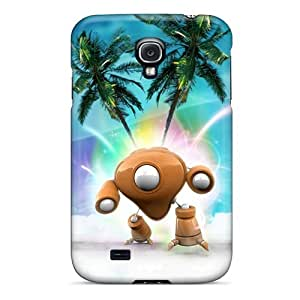 Awesome Mechanic Guy 3d Flip Cases With Fashion Design For Galaxy S4