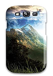CwJvMSI5118HLAWC Case Cover Space Background With Resolution Galaxy S3 Protective Case