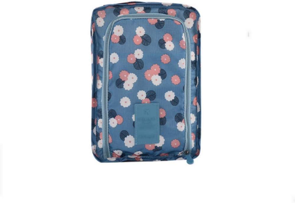 BNUOYEE Waterproof Shoes Storage Bag Travel Packing Organizer Traveling Accessories Blue