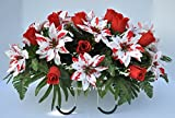 Cemetery-flowersCemetery-flower-serviceGrave-side-flowerssympathy-flowersChristmas-flowers-for-gravescemetery-saddleheadstone-flowers