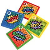 24 Superhero Slide Puzzles by Blue Green Novelty …