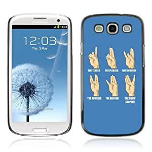 YOYOSHOP [Funny Hand Signs] Samsung Galaxy S3 Case