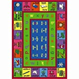 Educational Lengualink French Kids Rug Rug Size: 5'4'' x 7'8''
