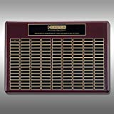 Perpetual Plaque - Rosewood 48-Plate RWP-PP504
