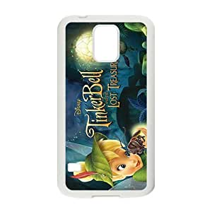 Happy Tinkerbell Case Cover For samsung galaxy S5 Case