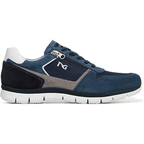 buy popular 7fa91 2f6b7 Nero Giardini Uomo Sneakers Acqua P800350U Scarpe Primavera Estate 2018, EU  43