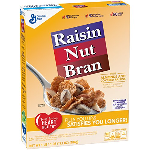 (Raisin Nut Bran Cereal, 17.1 oz (Pack of 12))