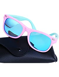 Toddler Sunglasses TPEE Rubber Flexible Girls and Boys...