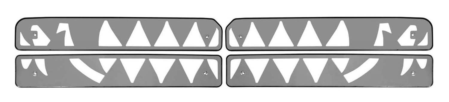 Bully SG-351 Stainless Steel Fang Grille Insert