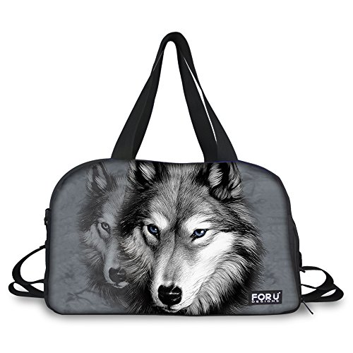Animal Print Duffle Bag - 8