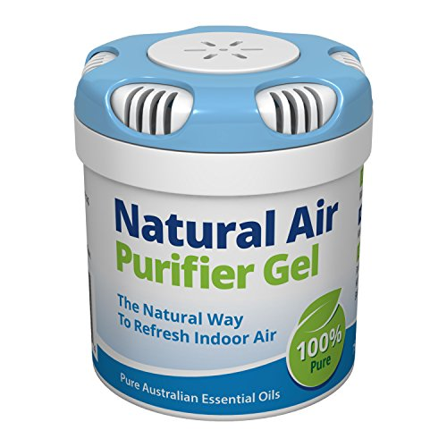 Outback Blue Natural Air Purifier Gel. Odor Eliminator & Natural Air Freshener Neutralizes Smell. Mold & Mildew Remover - Home, Pets, Car, Boat & RV 2.6oz/75gm
