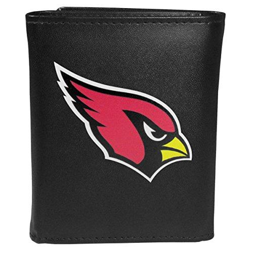 Siskiyou Sports NFL Arizona Cardinals Tri-fold Wallet Large Logo, Black
