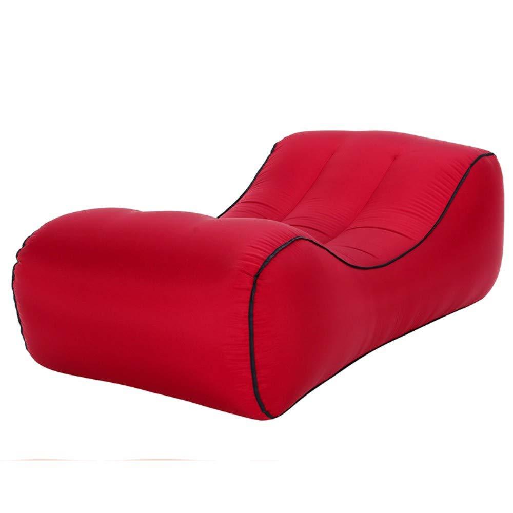 1457040cm  ARIESDY Int¨¦Rieur ou ext¨¦Rieur Air Couchage Canap¨¦ lit Gonflable Air Chaise portable ¨¦tanche Compression Sacs pour Le Camping, Parc, Plage, Jardin