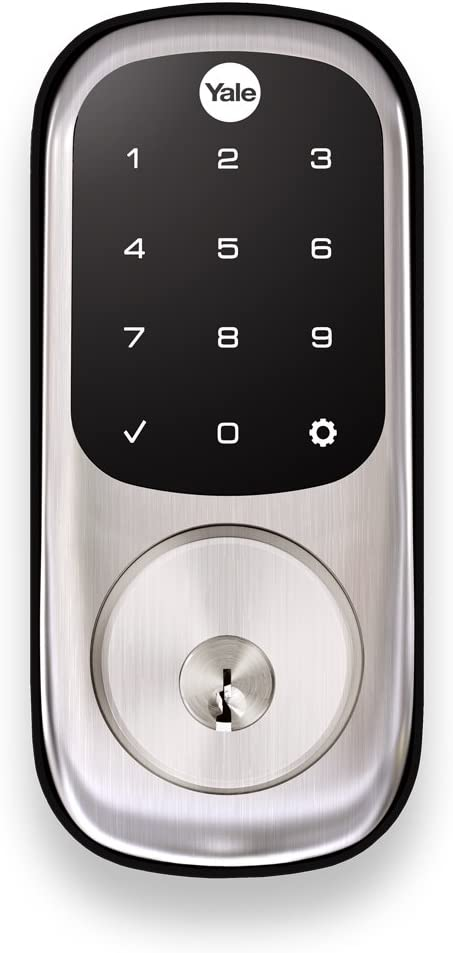 Yale Assure Lock With Z-Wave Touchscreen Keypad And Deadbolt