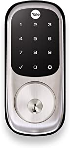 Yale Assure Lock - Touchscreen Keypad Door Lock in Satin Nickel