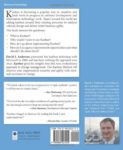 Kanban: Successful Evolutionary Change for Your Technology Business by Brand: Blue Hole Press