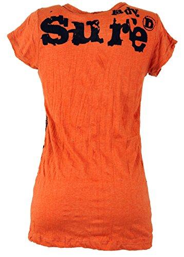 GURU Ganesh Arancione Cotone Ruggine Sure` Maglietta SHOP Camicie Sicura TxCqOaTwr