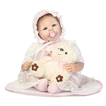 Amazon.es: SJHO Reborn Doll-Realista bebé recién Nacido muñeca 20 Pulgadas, Regalo de Juguete: Juguetes y juegos
