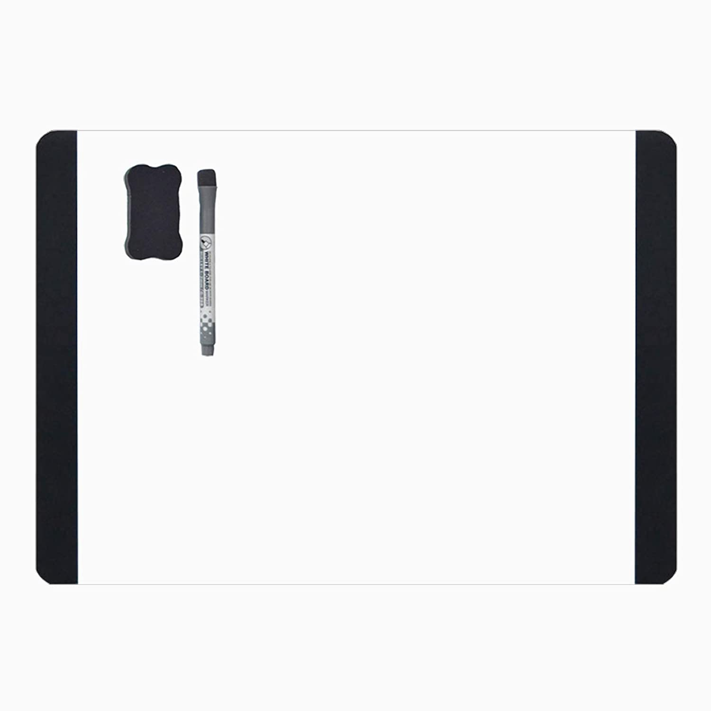 A4 White Board Fridge Memo Board noticeboard-Memo Board Fridge Note Flexible for Fridge Door