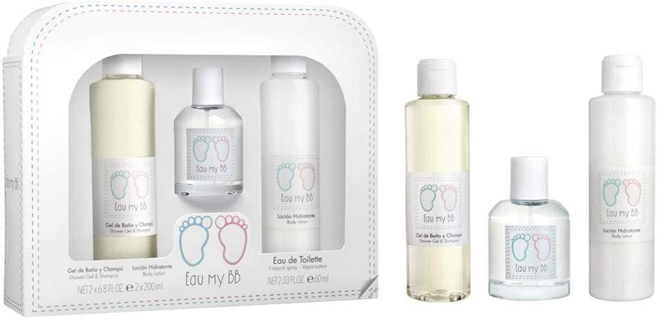 Eau My BB Set Eau de Toilette, Gel y Loción - 460 ml