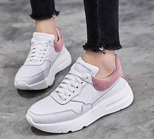 de rosa Zapatillas blanco LFEU Mujer Atletismo qaWc0H