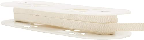Wright Products Simplicity Twill Tape 1 2 X18yd, Ivory hree P ck