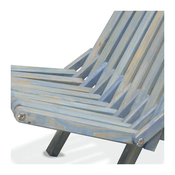 GloDea X36 Natural Lounge Chair, Sky Blue - Folds for easy portability and space saving Handmade with a modern design and your comfort in mind Crafted from eco friendly wood and packed in recyclable boxes - patio-furniture, patio-chairs, patio - 51iXyLRBBlL. SS570  -