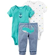 Carter's Baby Boys' 3 Piece Little Character Set 6 Months