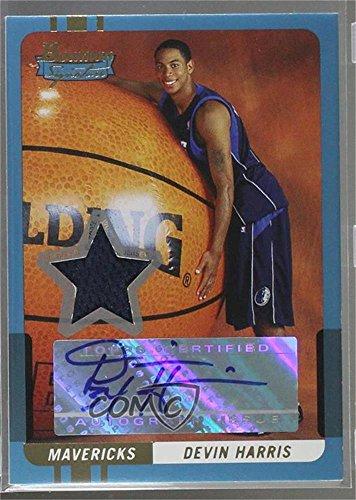 Devin Harris #/169 (Basketball Card) 2004-05 Bowman Signature - [Base] - 169 -
