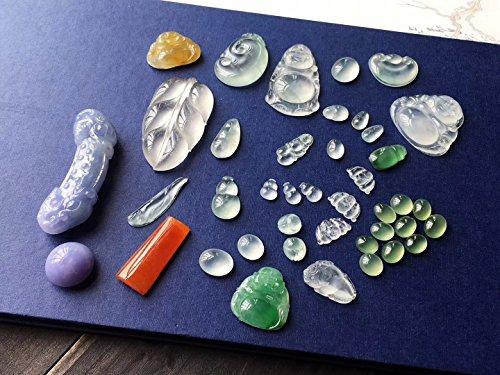 usongs Jieyang Yang Mei Luo Dan jade necklace pendant ice kinds wood that high sun green floating glass color seated Buddha Guanyin public bracelet