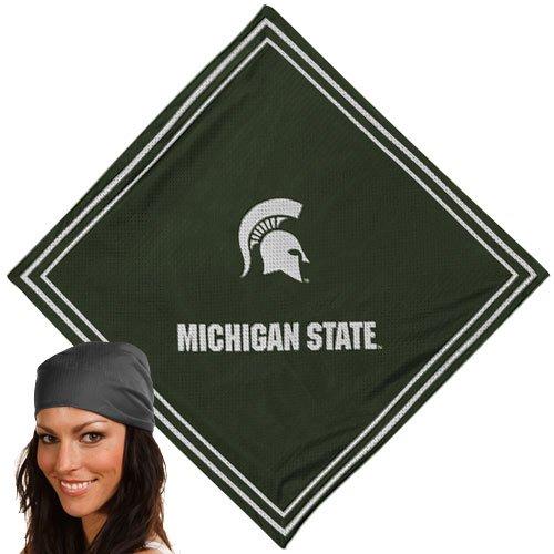Michigan State Spartans Jersey Mesh Bandana Scarf