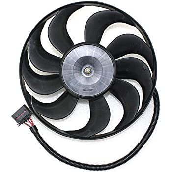 A/C Condenser Fan Assembly compatible with VW Beetle 98-06 ASSEMBLY 220/60w - 290mm Diameter