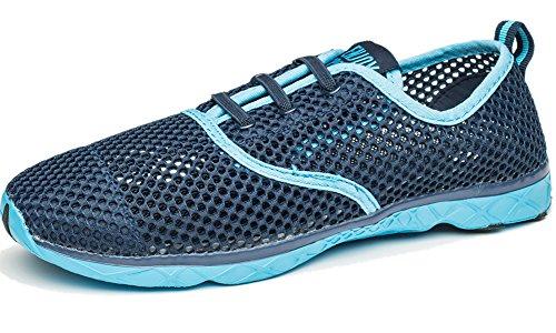 DOTACOKO Men Women Quick Drying Aqua Water Shoes Athletic Sport Lightweight Slip On Walking Shoes Beach