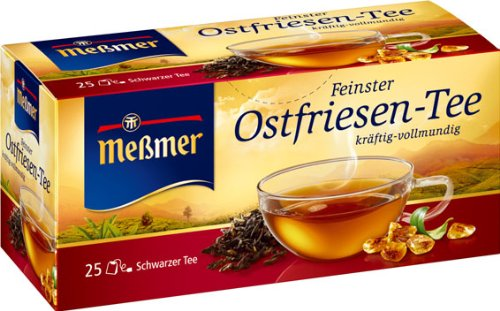 Meßmer Feinster Ostfriesen-Tee 2 Packs (25 Tea Bags)