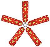 Fan Blade Designs Christmas Trees Ceiling Fan Blade Covers