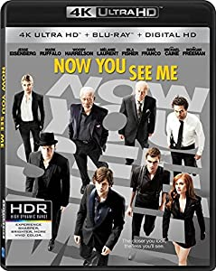 Cover Image for 'Now You See Me [4K Ultra HD + Blu-Ray + Digital HD]'