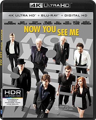4K Blu-ray : Now You See Me (4K Mastering, 2 Pack, Digitally Mastered in HD, 2 Disc)