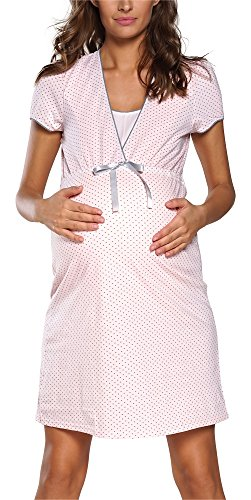 Italian Fashion IF Felicita 0114 – Camicia da notte da donna Premaman