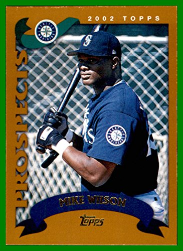 2002 Topps Traded #T223 Mike Wilson RC SEATTLE MARINERS ROOKIE