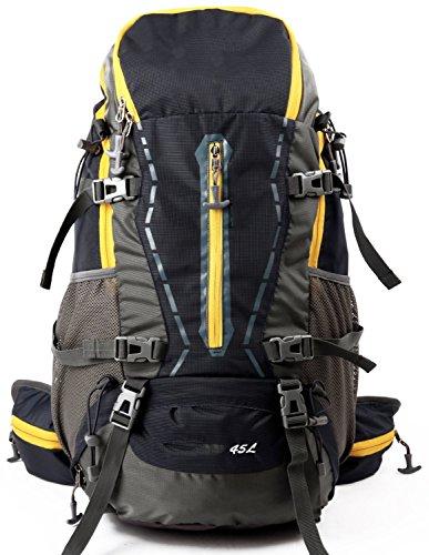 Im Freienberg Taschen Rucksack wasserdicht Ripstop erhebliche negative erhöhten Fahrpaket (45L mit regen Abdeckung) reisen