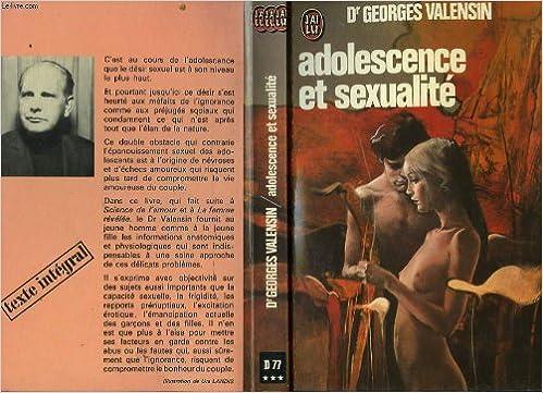 Lire Adolescence et sexualite pdf