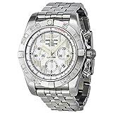 Breitling Men's AB011012/A690 Chronomat B01 White Chronograph Dial Watch