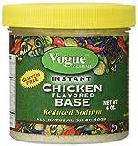 non chicken chicken stock - Vogue Cuisine Chicken Soup & Seasoning Base 4oz (1 Jar) - Natural, Reduced Sodium & Gluten-free