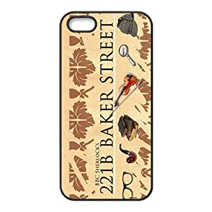 221B BAKER STREET Cell Phone Case for iPhone 5S