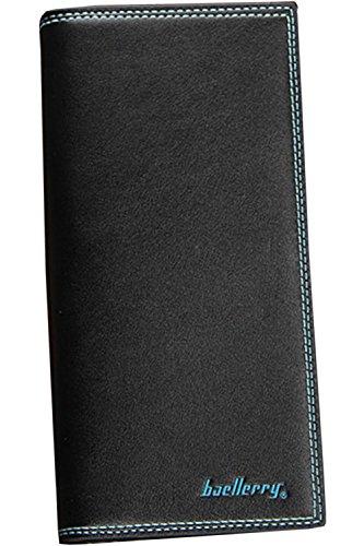 Zumeet Long Zumeet Black Men's Functional Thin Men's Multi Black Wallet Wallet Black Multi Thin Long Functional 0rXq0